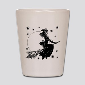 Old Fashioned Witch Shot Glass