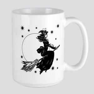 Old Fashioned Witch Large Mug