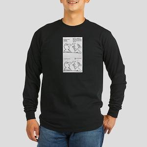 Friendly Persuasion Long Sleeve Dark T-Shirt