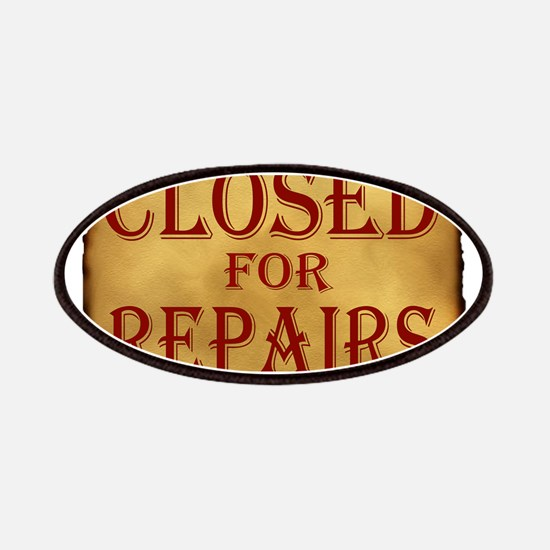 CLOSED SIGN Patches