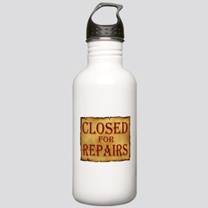 CLOSED SIGN Stainless Water Bottle 1.0L