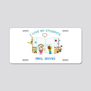 Custom Teacher Aluminum License Plate