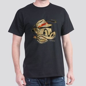 Smokin Pig by Elliott Mattice Dark T-Shirt