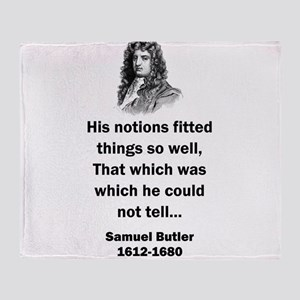 His Notions Fitted Things - Samuel Butler (17th Ce