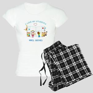 Custom Teacher Women's Light Pajamas