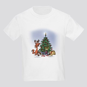 A Kid for Christmas Kids Light T-Shirt