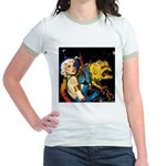 The Moondog and His Mistress Jr. Ringer T-Shirt