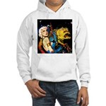 The Moondog and His Mistress Hooded Sweatshirt