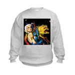 The Moondog and His Mistress Kids Sweatshirt