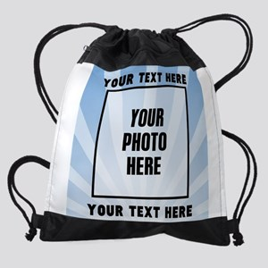 Personalized Sports Drawstring Bag
