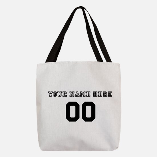Personalized Baseball Polyester Tote Bag