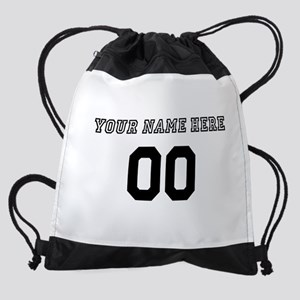 Personalized Baseball Drawstring Bag
