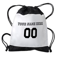 Personalized Baseball Drawstring Bag