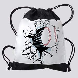Breakthrough Baseball Drawstring Bag