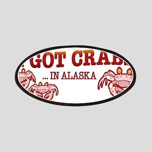 I GOT CRABS IN ALASKA Patches