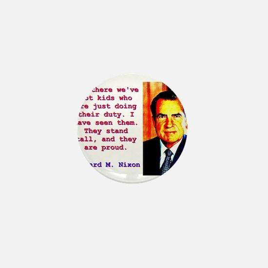 Out There We've Got Kids - Richard Nixon Mini