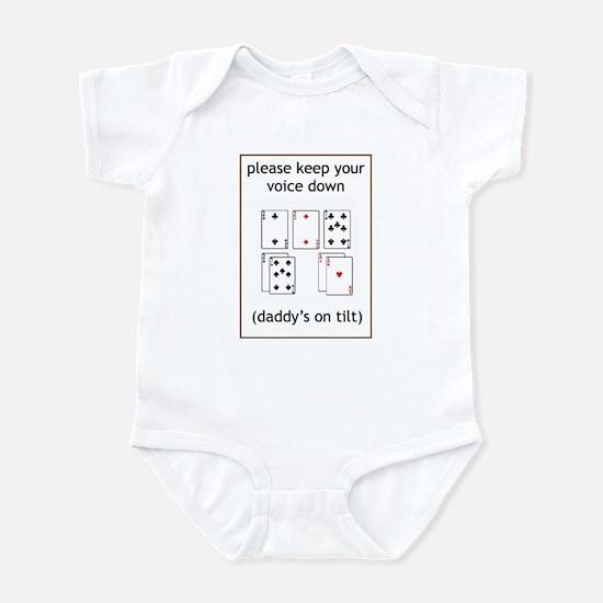 Daddy's on tilt Infant Bodysuit