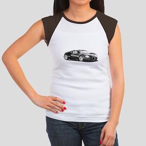 Bugatti Veyron, Women's Cap Sleeve T-Shirt