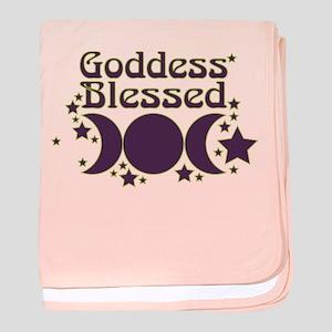 Goddess Blessed baby blanket