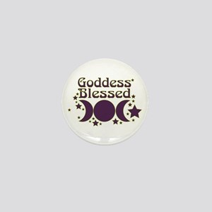 Goddess Blessed Mini Button