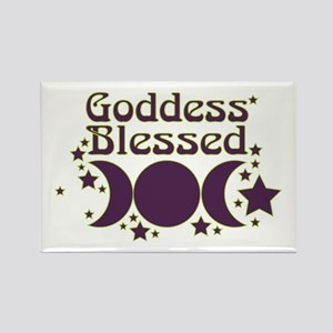 Goddess Blessed Rectangle Magnet