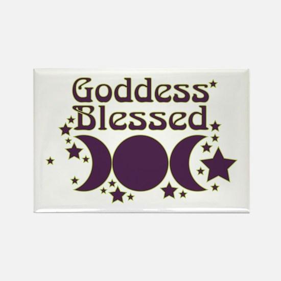 Goddess Blessed Rectangle Magnet