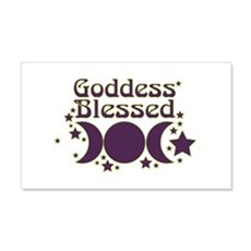 Goddess Blessed Wall Decal