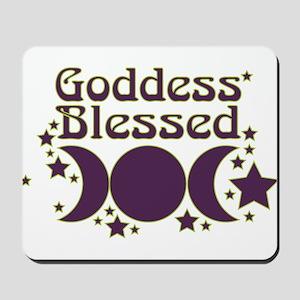 Goddess Blessed Mousepad