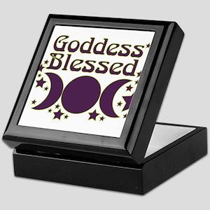 Goddess Blessed Keepsake Box