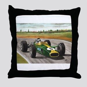 Jim Clark, Throw Pillow