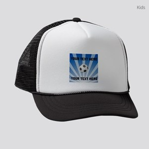 Personalized Soccer Kids Trucker hat