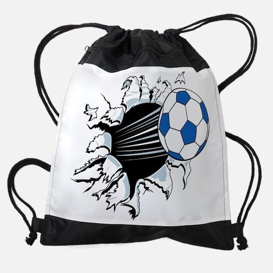 Breakthrough Soccer Ball Drawstring Bag