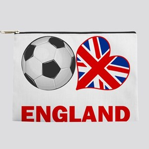 SOCCER-peace-love-england Makeup Pouch