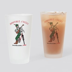 Minstrel Cycles Drinking Glass
