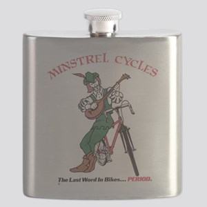 Minstrel Cycles Flask