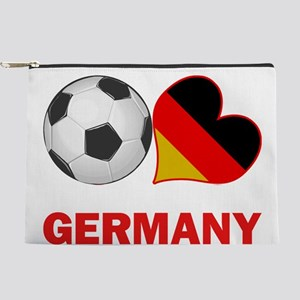 SOCCER-peace-love-germany Makeup Pouch