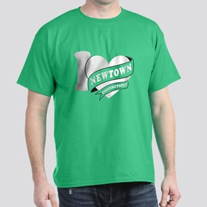 I Love Newtown Dark T-Shirt