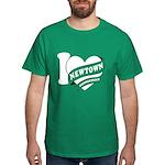 I Love Newtown Dark T-Shirt