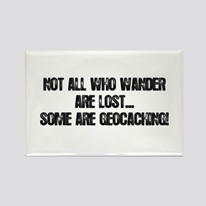 Not all Who Wander... Rectangle Magnet