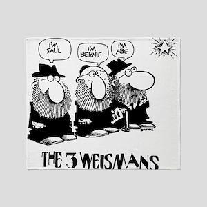The 3 Weisman Throw Blanket