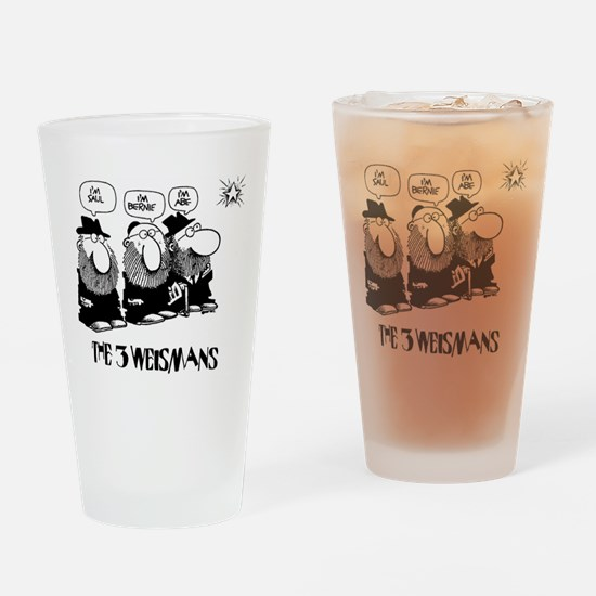 The 3 Weisman Drinking Glass