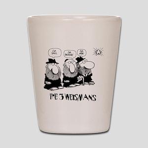 The 3 Weisman Shot Glass