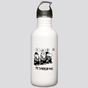 The 3 Weisman Stainless Water Bottle 1.0L