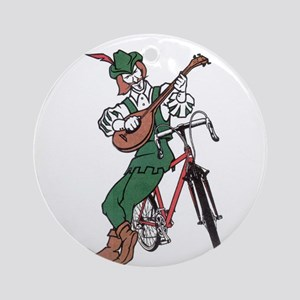 Minstrel Cycles Ornament (Round)