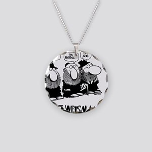 The 3 Weisman Necklace Circle Charm