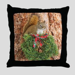Christmas Friend Throw Pillow