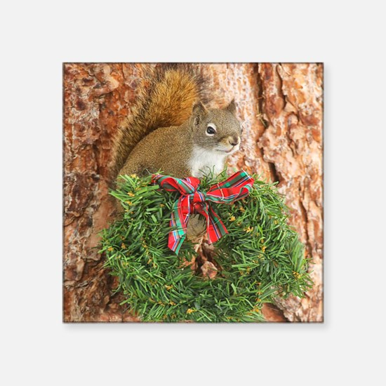 "Christmas Friend Square Sticker 3"" x 3"""