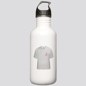 Cancer Awareness Ribbon Stainless Water Bottle 1.0
