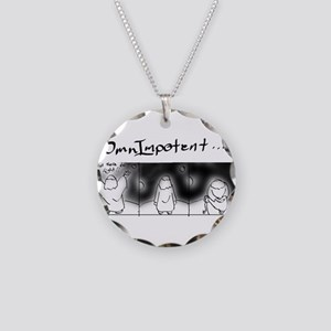 OmnImpotent Necklace Circle Charm