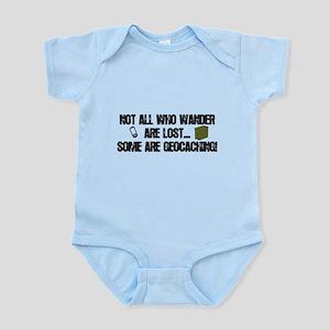 Not all who wander Infant Bodysuit